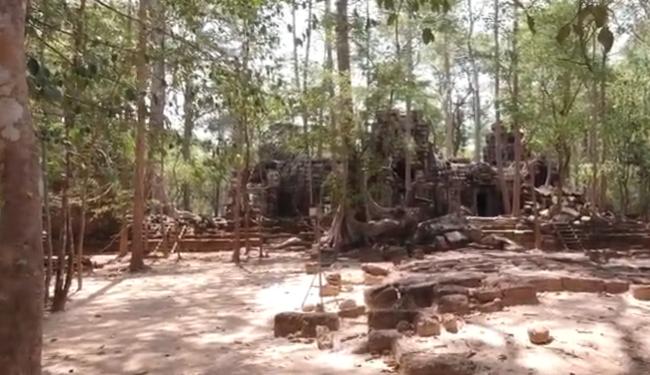 Та Ней - храм спрятанный в джунглях. Камбоджа. Ангкор. Экскурсия на диване.