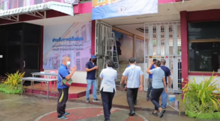 Old Phuket Prison now a 'Covid Care Centre', Slice of Phuket Town under lockdown |:| Thailand News