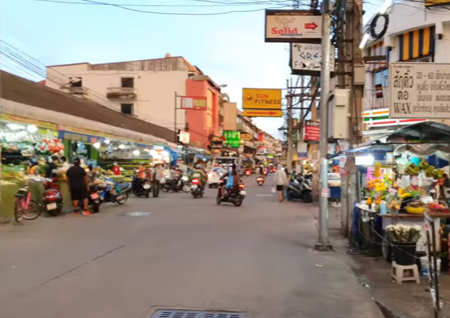SOI BUAKHAO. Таиланд Pattaya Thailand 4K