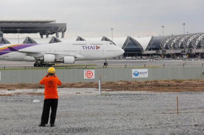 Взлетно-посадочная полоса аэропорта Суварнабхуми закрывается на технический ремонт