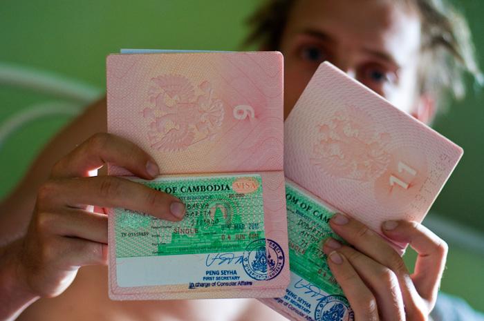 Нюансы визовых разрешений в Камбодже
