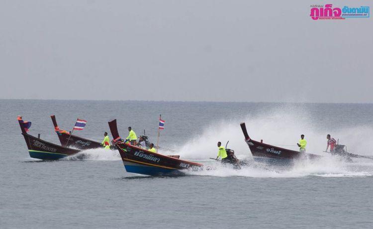 На Пхукете прошли ежегодные гонки на лодках-лонгтейлах