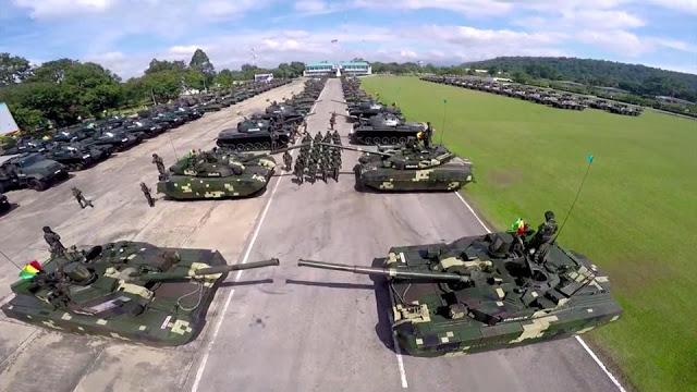 СМИ: ВС Таиланда получили 28 новых танков из КНР