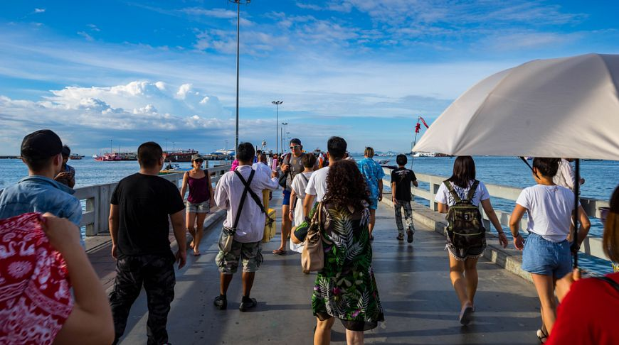 ТАТ: в первой половине 2017 года Паттайю посетило 8 млн туристов