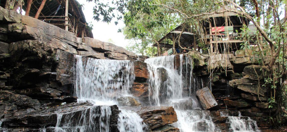 Родные Нью-Васюки в Сиамском заливе и священный кхмерский водопад