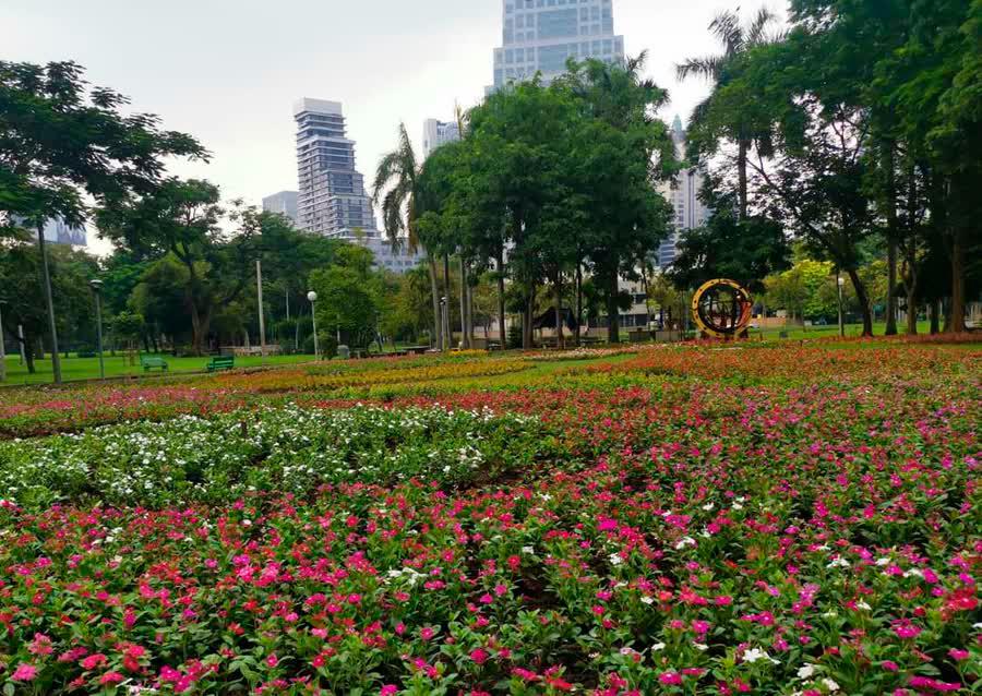 Цветочный фестиваль «Флора Бангкока»