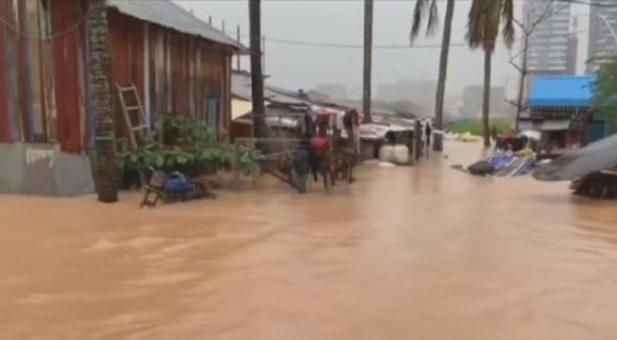 Три человека погибли из-за паводков в Камбодже