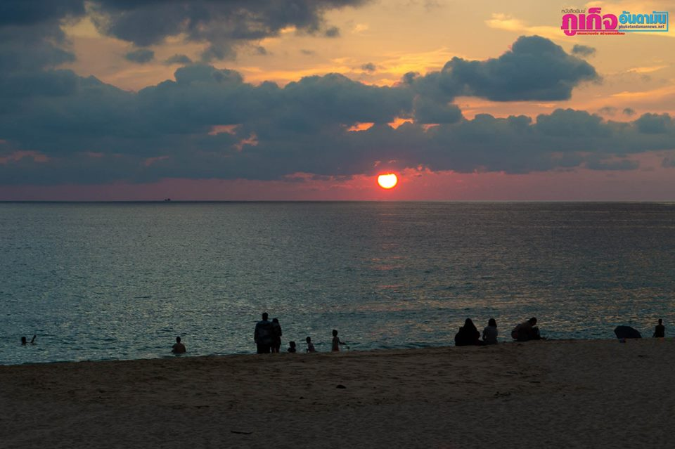 Sunset Beach, Surin, 14 may