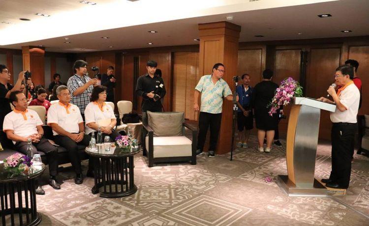 """Масштабный туристический комплекс """"Blue Tree Phuket"""" с инвестициями в размере более 40 млн.. долл. США откроется в первом квартале 2019 года. 23 Августа прошла встреча местных властей с Майклом Айном, генеральным директором проекта"""