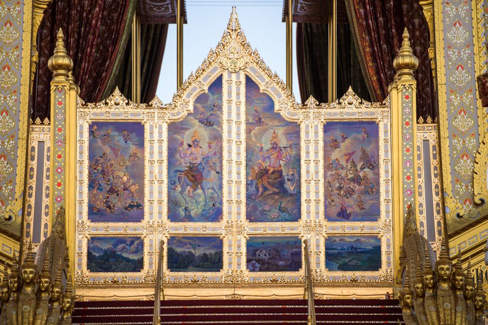 Прямая трансляция Церемоний королевской кремации Его Величества покойного Короля Пумипона Адульядета