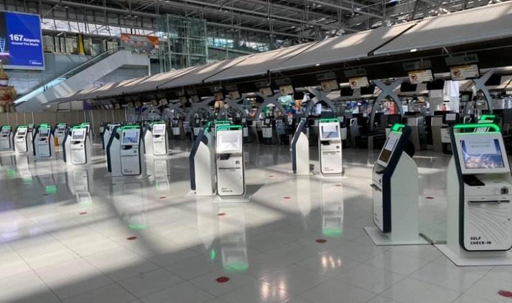 Аэропорты Таиланда внедрят 180 киосков саморегистрации