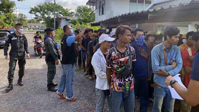 В Таиланде в течение дня арестованы 107 нелегальных камбоджийских мигрантов