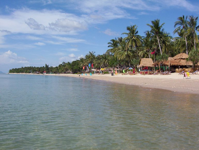Пляжи Ко Лан