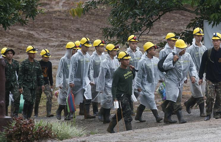 Спасатели в Таиланде приступили к финальной части операции по эвакуации людей из пещеры