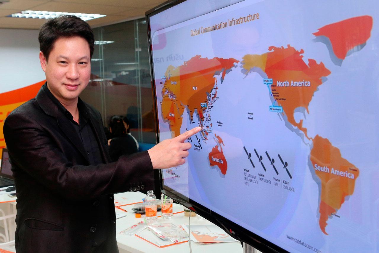 CAT запускает подводную кабельную систему сверхскоростного интернета в Тайланде