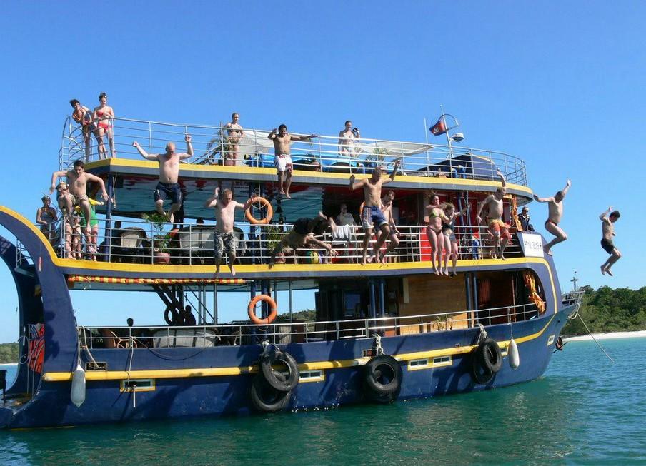 Молодежный курорт Камбоджи