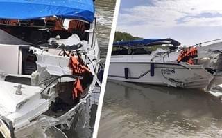 На острове Пхукет в 8:15 утра по местному времени в понедельник. В результате погибли два ребенка, и еще 20 туристов попали в больницу
