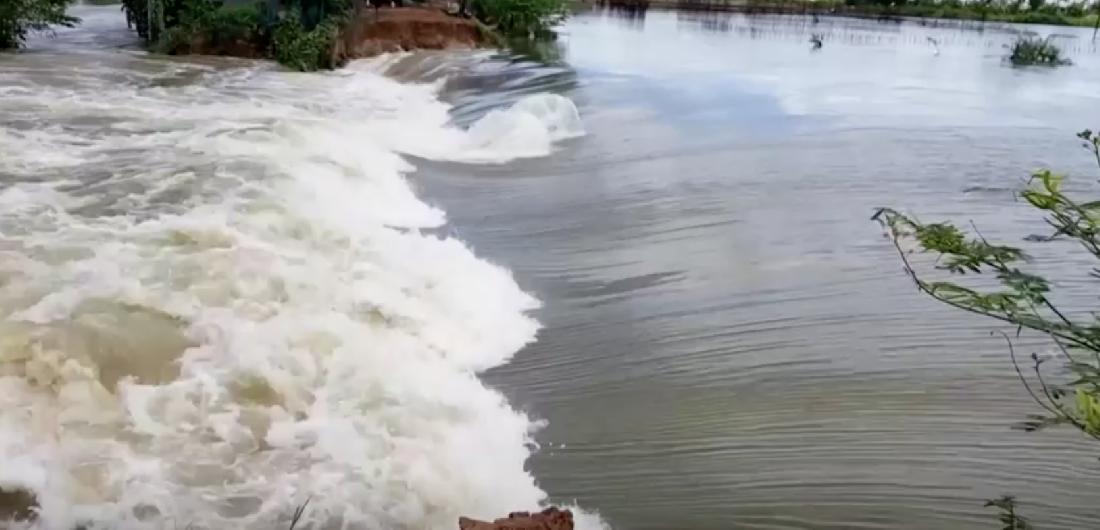 Камбоджа борется с мощным тайфуном