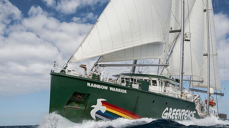 Парусник Greenpeace «Воин Радуги» приглашает жителей Пхукета на экскурсии
