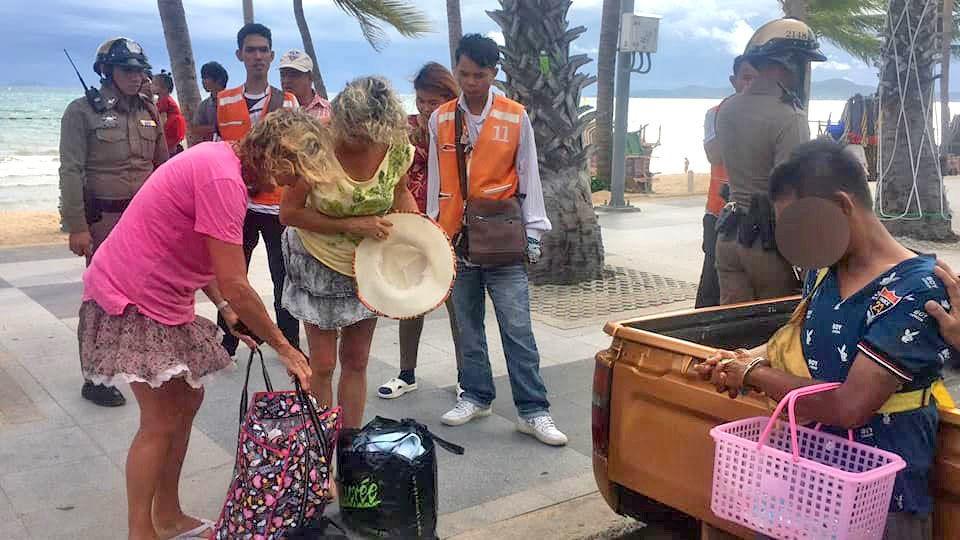 Пляжный торговец задержан за кражу в Паттайе