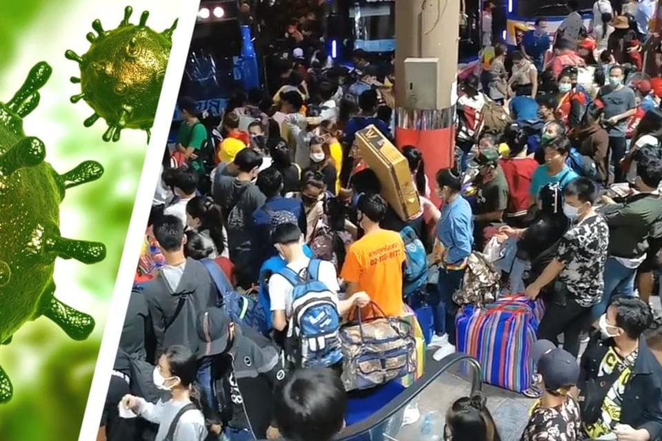 Более 100 000 человек бегут из Бангкока, отели остались без персонала