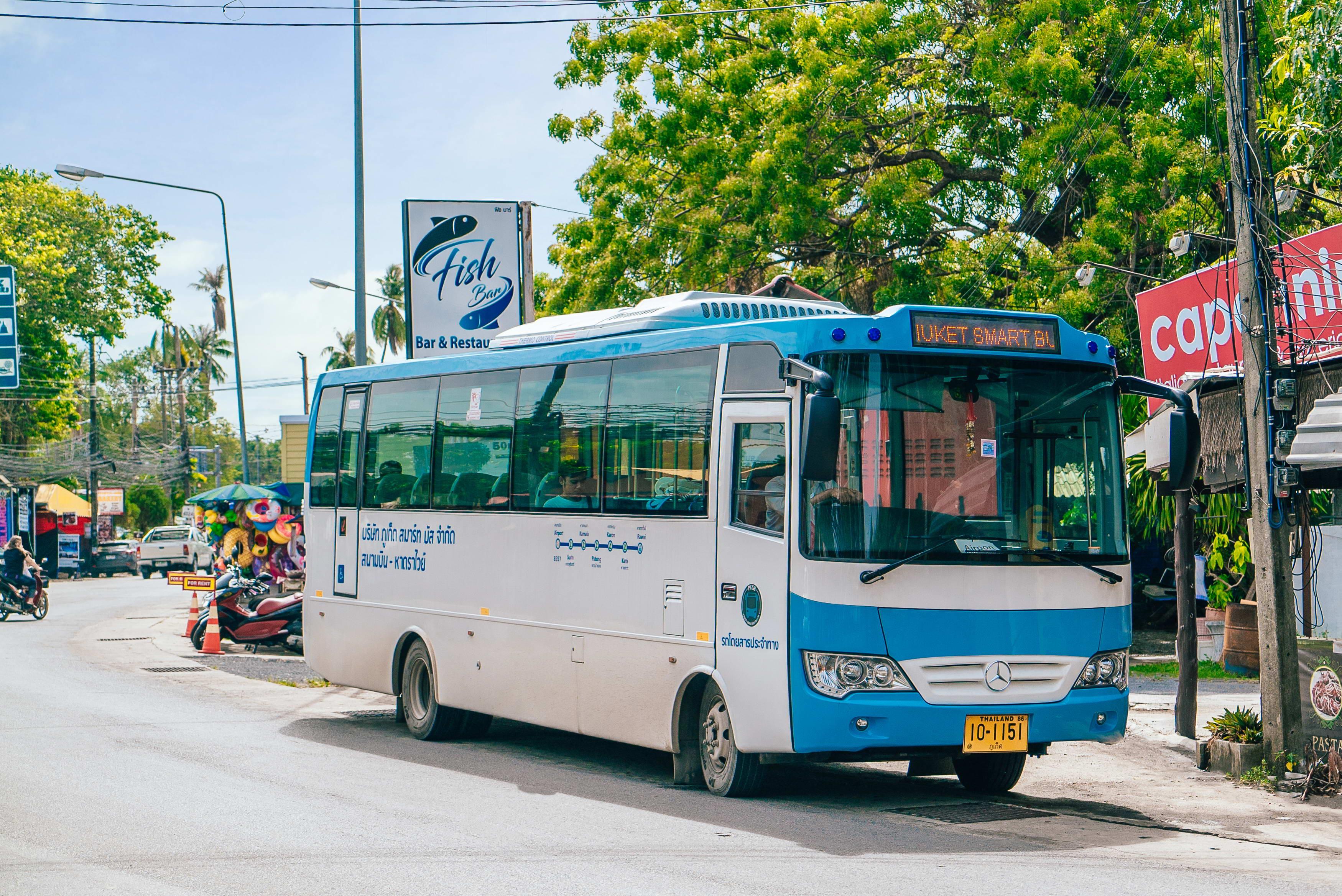 Автобусы Phuket Smart Bus снова прекратили работу