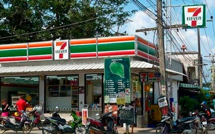 Отказ от пластика в 7-Eleven + благотворительность