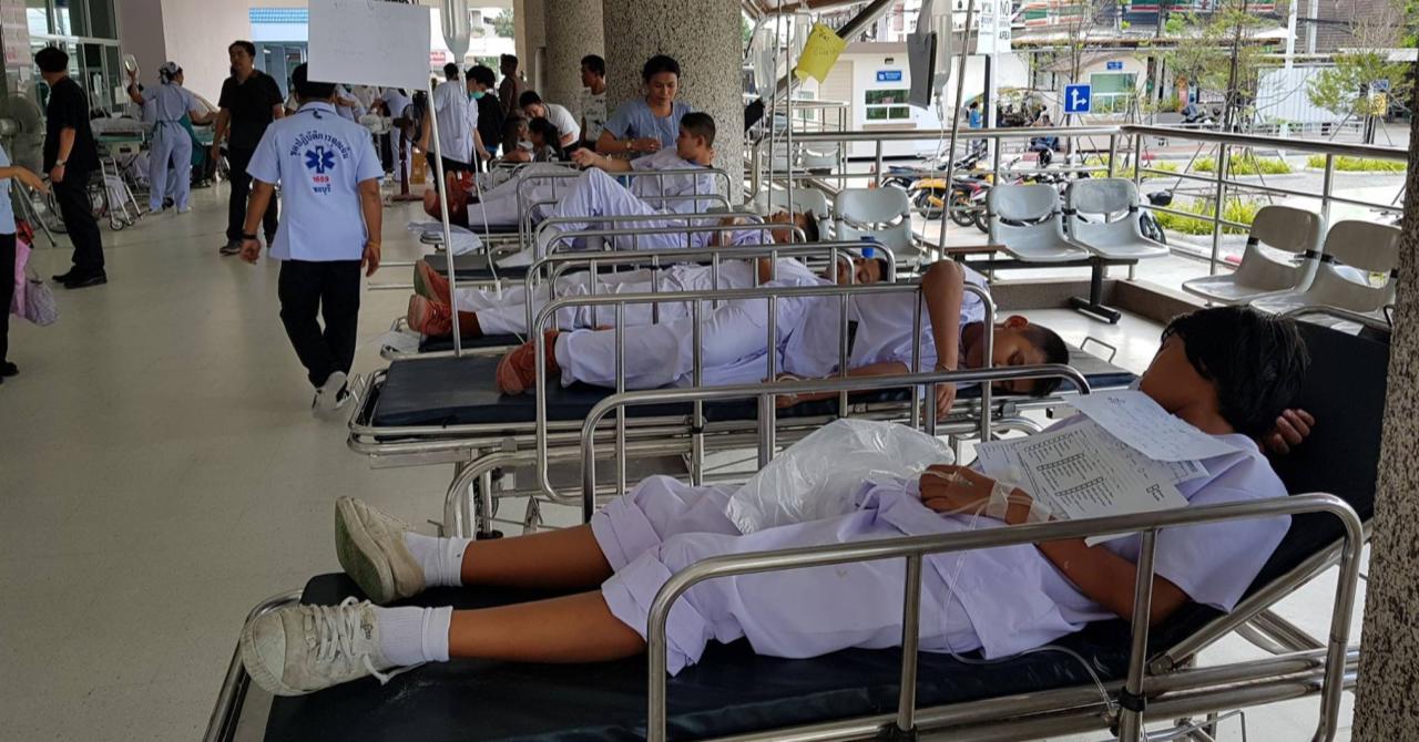 Иностранный турист устроил погром в одном из отелей на юге Паттайи