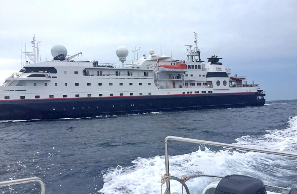 Все пассажиры круизного лайнера «La Belle Des Ocean» спасены