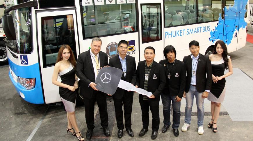 Запуск автобусов Smart Bus на Пхукете отложили до весны 2018