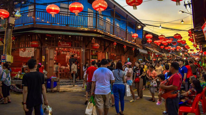 Аутентичный китайский рынок в Паттайе