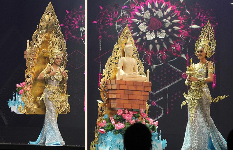 Восхитительные национальные костюмы на Miss Grand Thailand. В мероприятии, проходившем 11 июля в конференц-центре BITEC, красавицы демонстрировали впечатляющие наряды, отражающие новое время и традиции их Родины