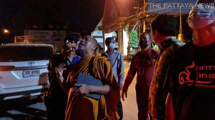 Монах спас человека от прыжка с телефонной башни Саттахипа