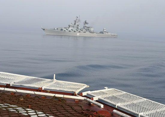 Отряд кораблей ВМФ России прибыл в Таиланд
