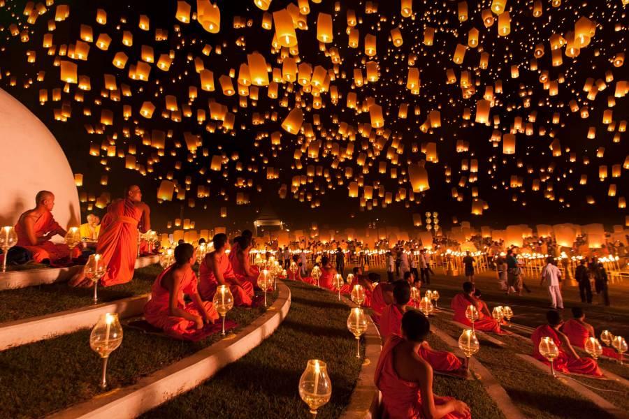 Во время буддистского праздника будет действовать запрет на алкоголь