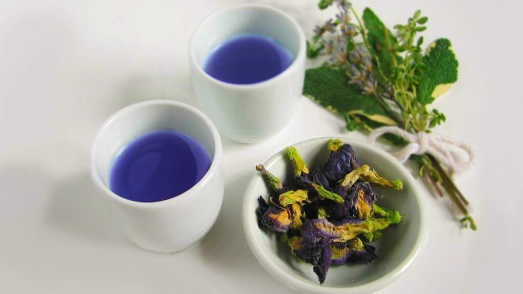 Секрет популярности синего тайского чая