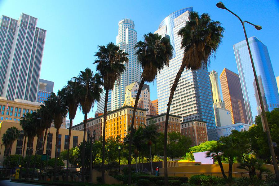 Даунтаун в Лос-Анджелесе