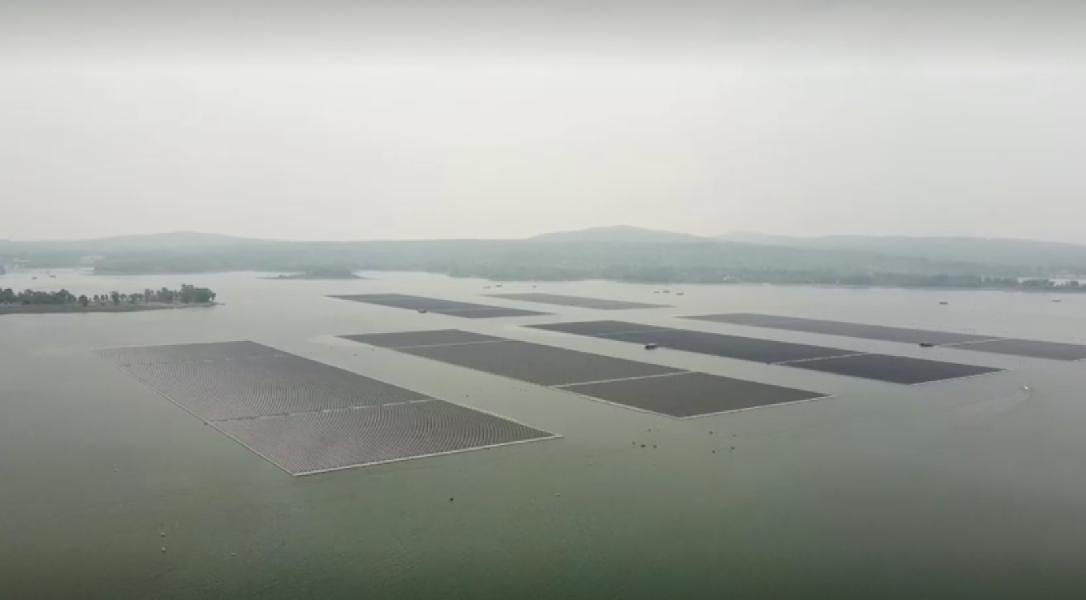 В Таиланде создана необычная самая большая в мире гибридная ГЭС