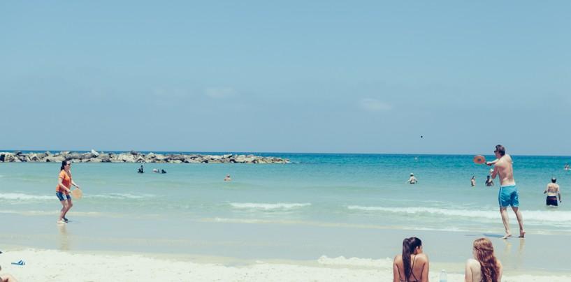 О пляжах Тель-Авива