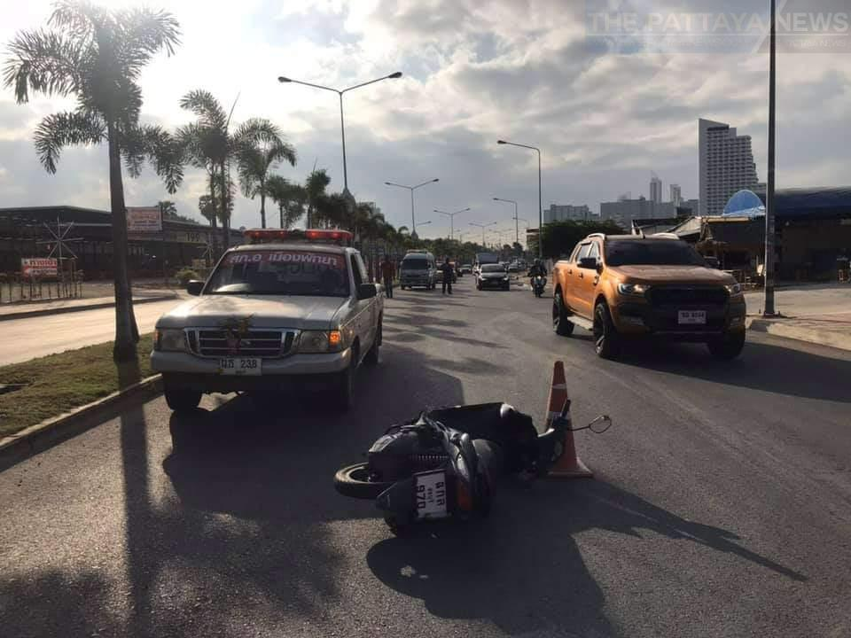Российский турист погиб в аварии на мотобайке Паттайе