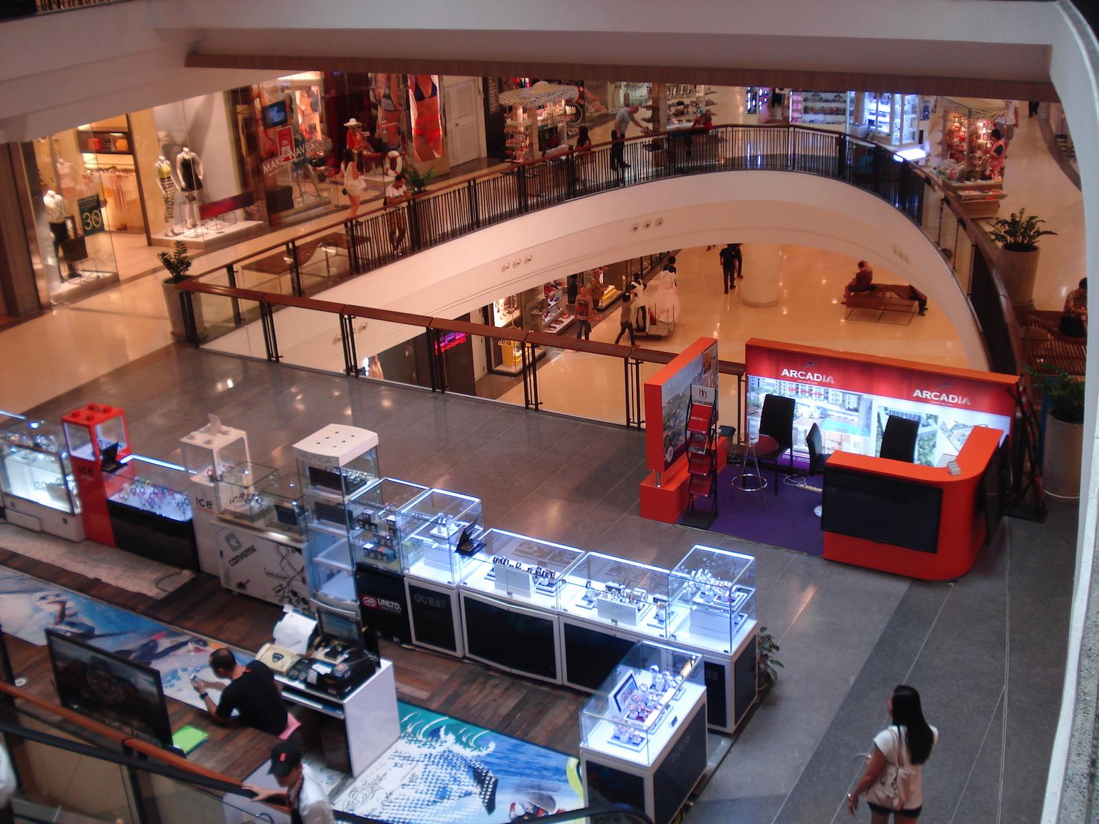 Добро пожаловать в шопинг-моллы Паттайи
