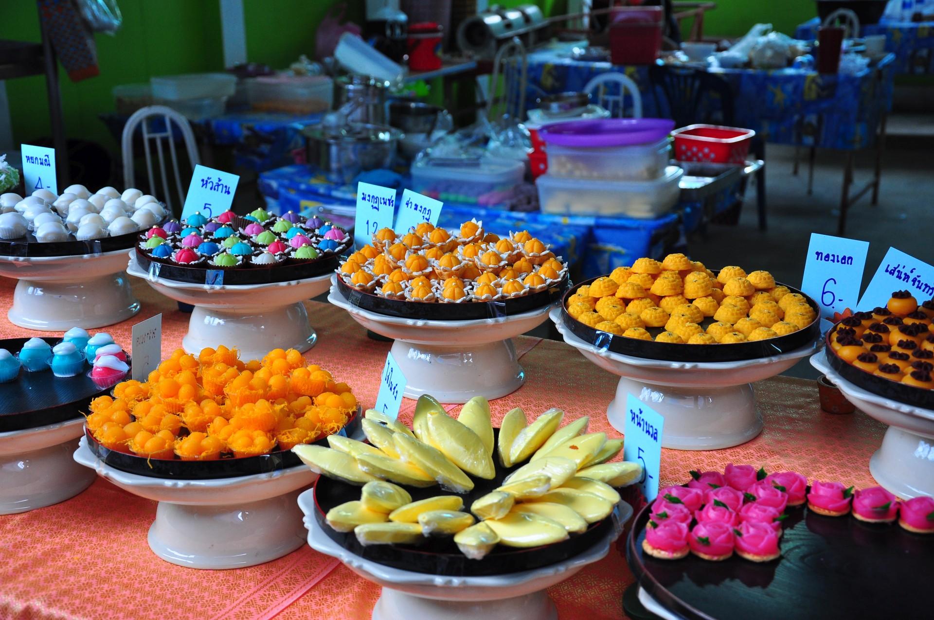 Какие сладости едят в Таиланде?