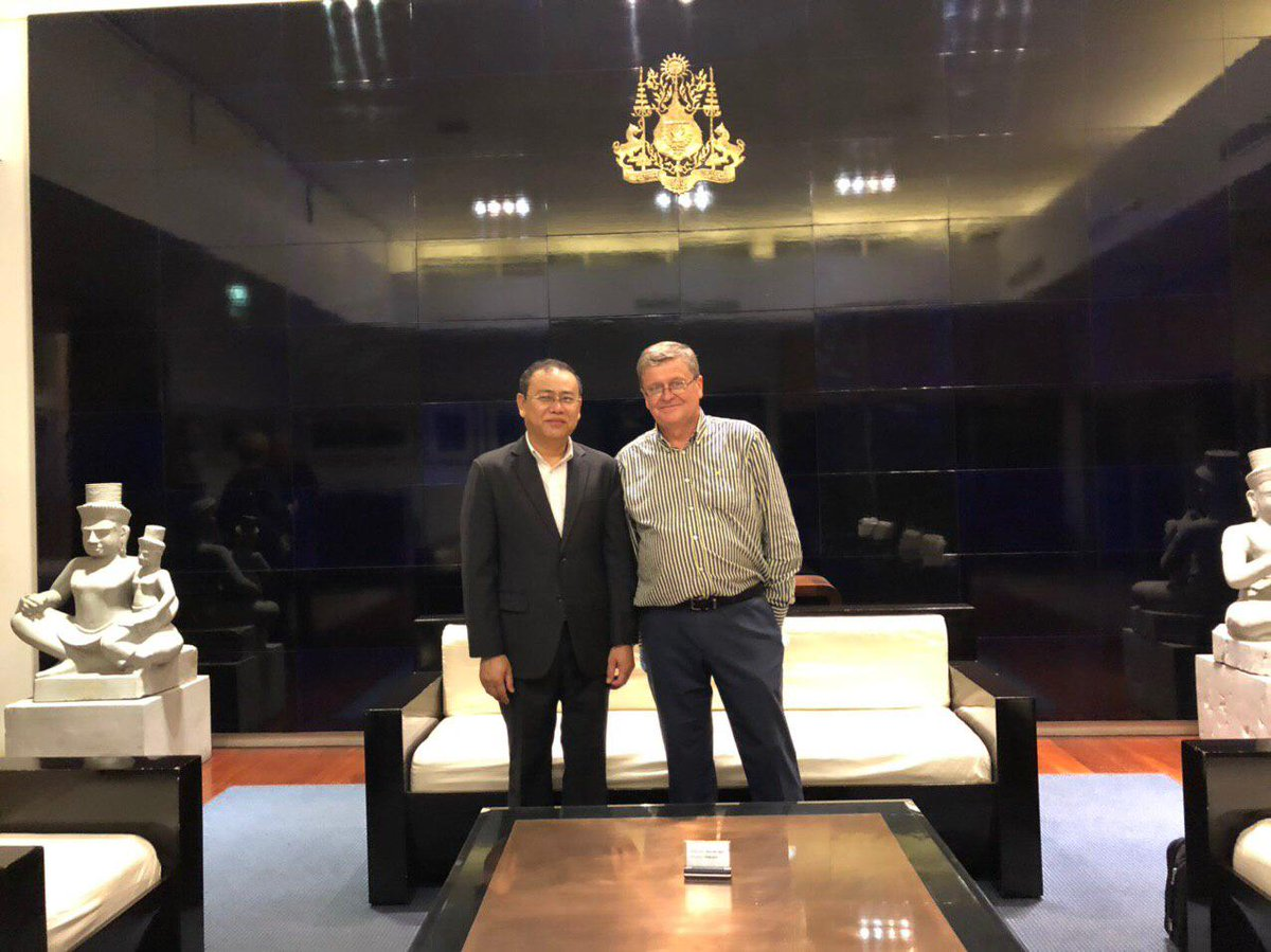 В Пномпень прибыл новый российский посол в Камбодже