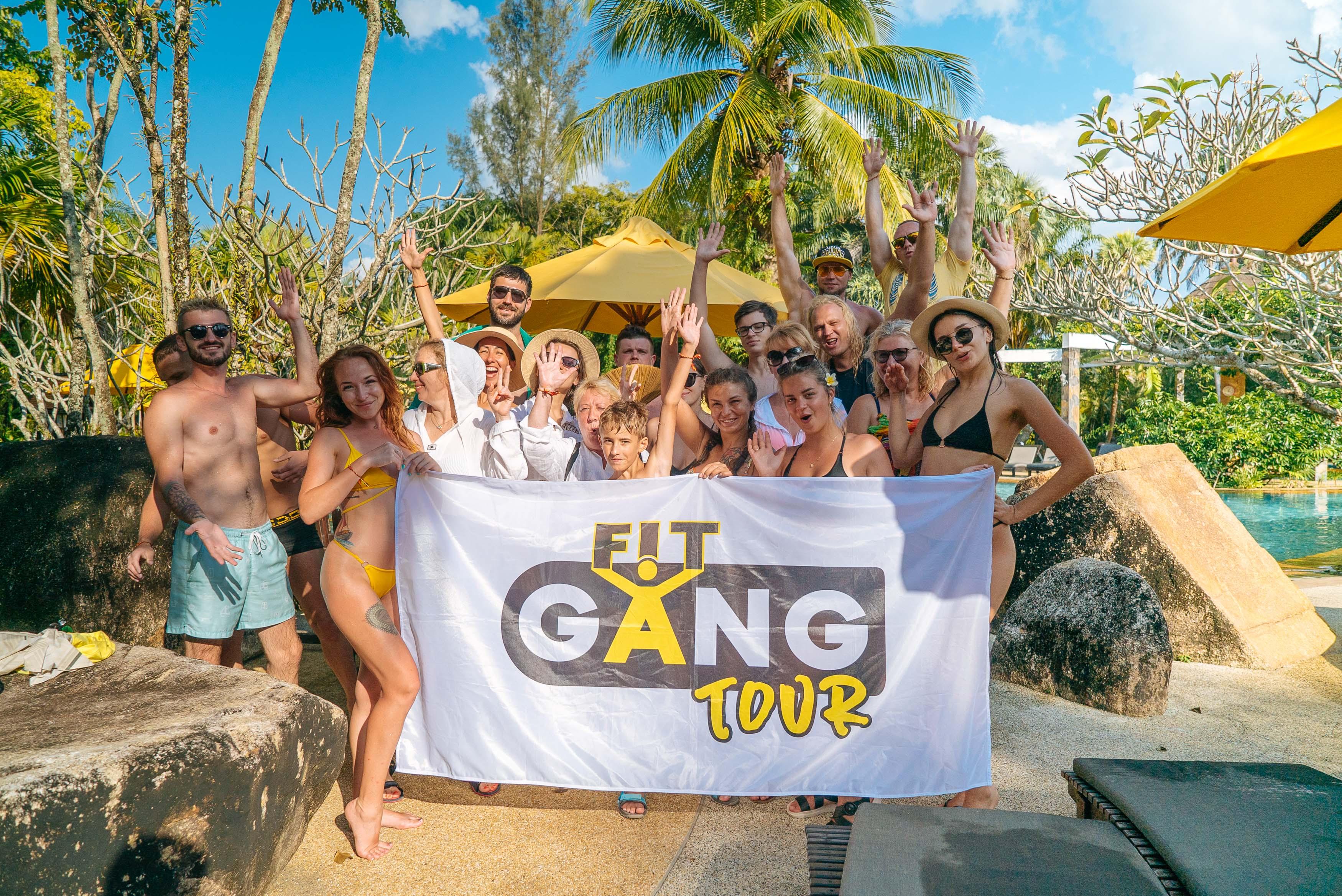 Фитнес-тур Fit Gang стартует на Пхукете 22 марта