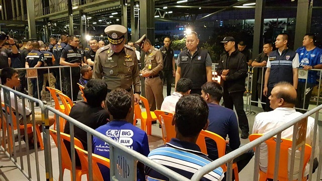 Иммиграционная полиция арестовала 8 400 иностранцев