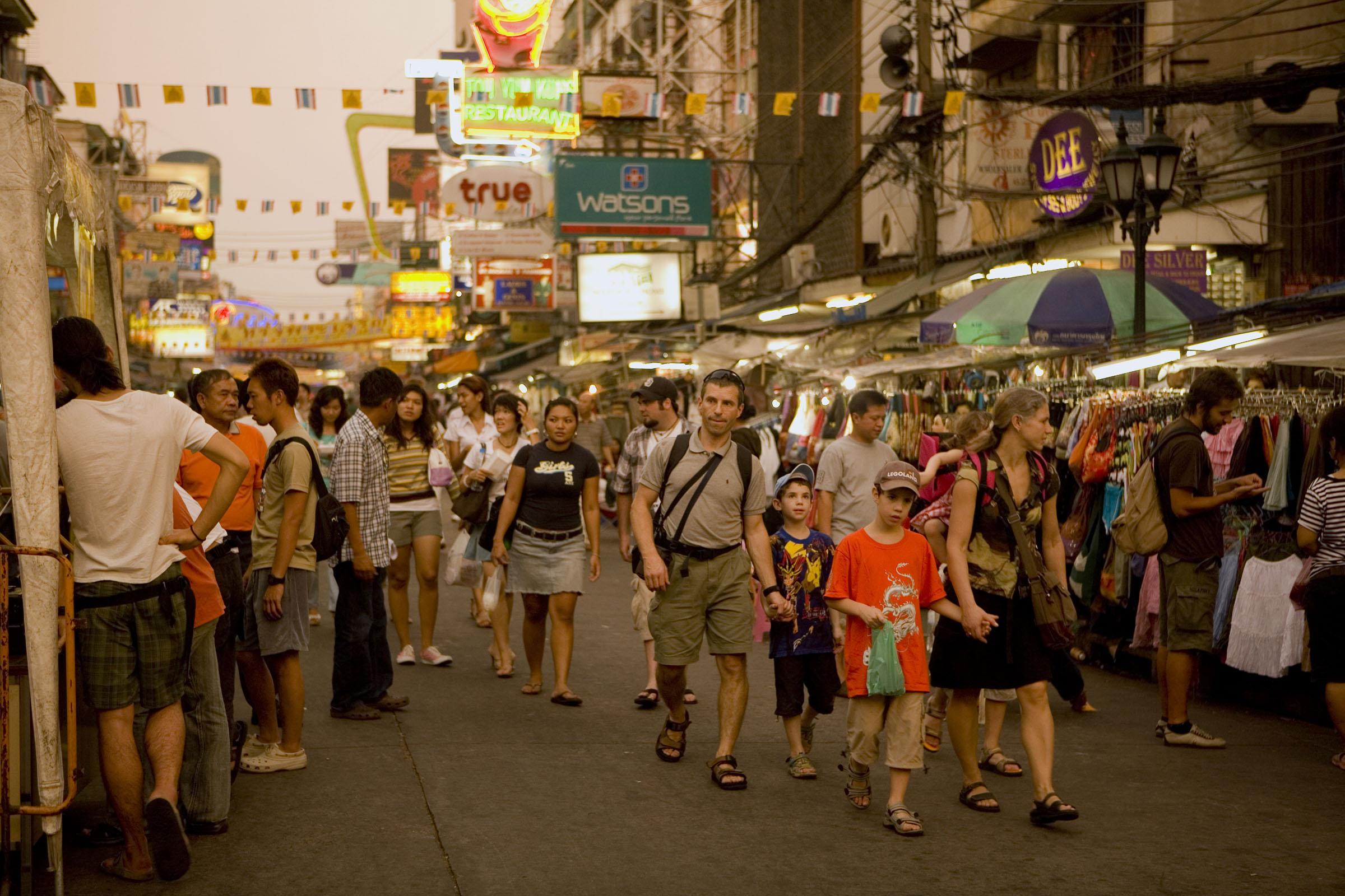 СМИ: власти Таиланда отложили планы по введению туристического сбора с иностранцев