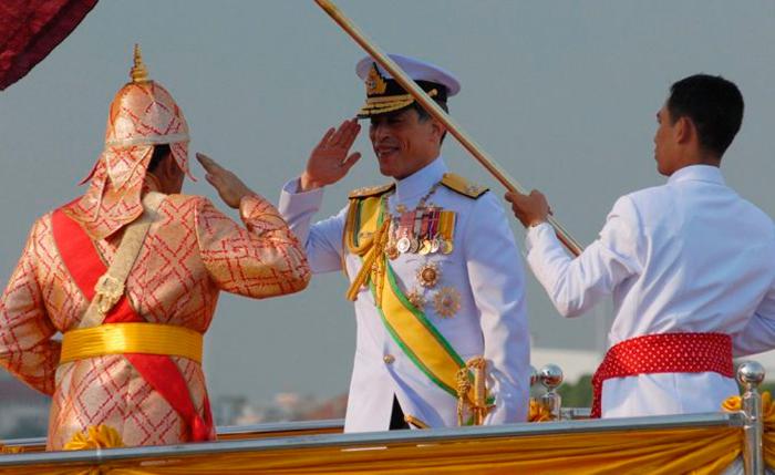 Таиланд выбирает источники святой воды для ритуалов Церемонии коронации