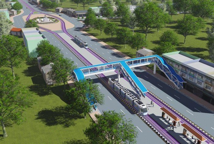 Пхукет начнет строительство линии облегченного метро