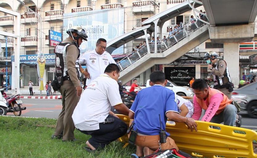 Британский эмигрант пытался помешать тайцу прыгнуть с пешеходного моста в Паттайе