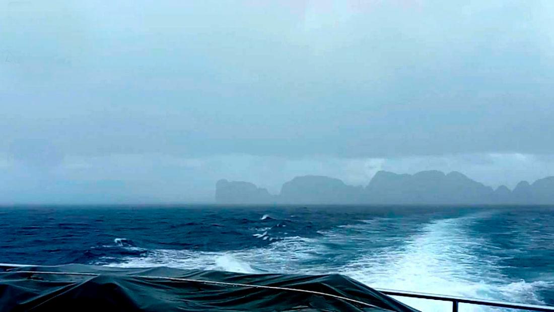 Предупреждение для судов, выходящих в море на Пхукете